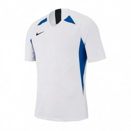 NIKE T-SHIRT AJ1010 102 WHITE/BLUE JUNIOR